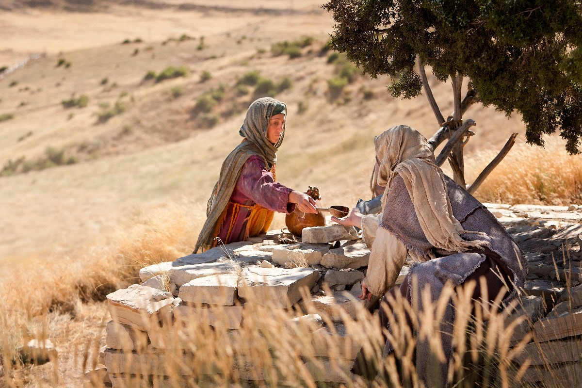 The Samaritan Woman at the Well Bible Object Lesson